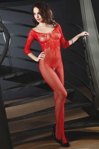 Catsuit Josslyn in Rot